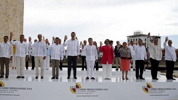 Comienza Cumbre Iberoamericana en Guatemala con dispositivo de seguridad para presidentes