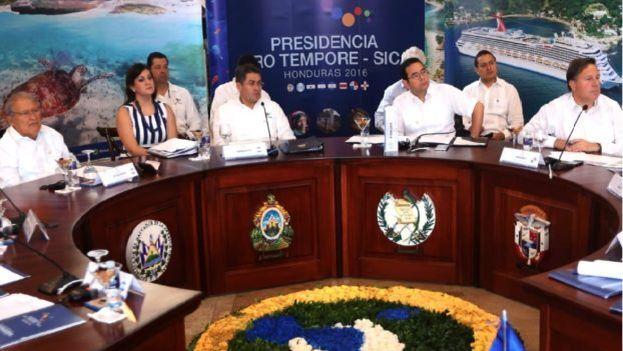 Cumbre del Sistema de Integración Centroamericana. (Twitter)
