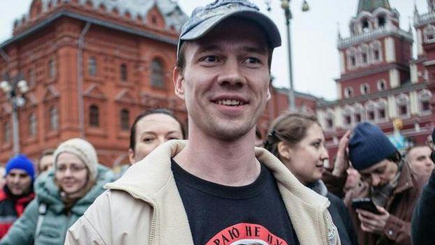 Dadin recobrará la libertad dentro de unos días, cuando la documentación llegue al penal de la región de Altái, a miles de kilómetros de Moscú. (@rjrietveldt)