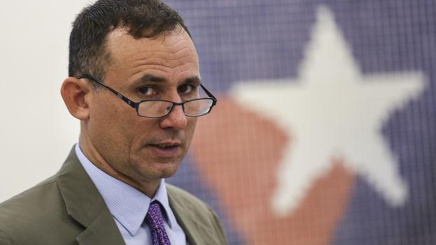 José Daniel Ferrer, líder de la Unión Patriótica de Cuba, este miércoles en Miami. (14ymedio)