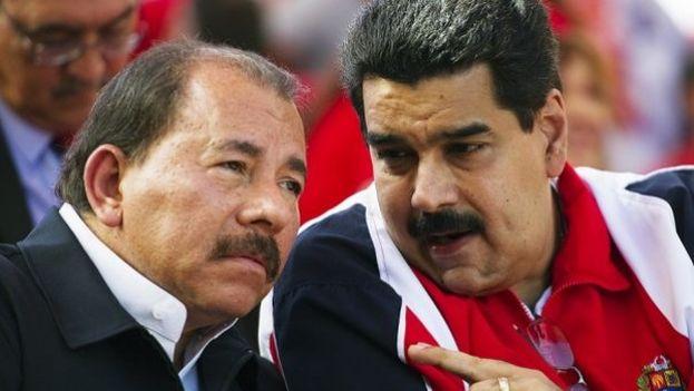 Daniel Ortega y Nicolás Madura. (CC)