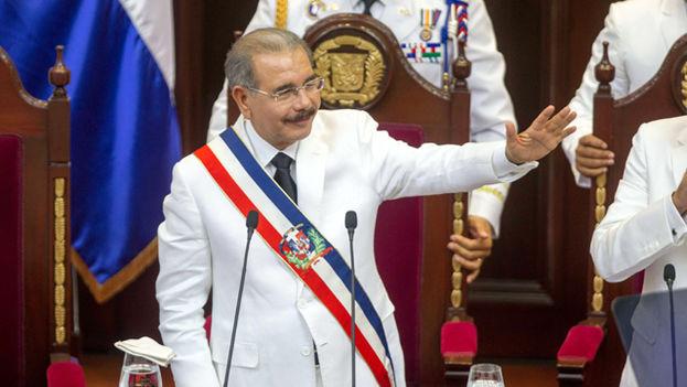 Danilo Medina, presidente de República Dominicana. (EFE)