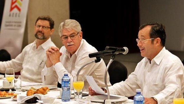 Dastis destacó este miércoles el papel de las empresas españolas en la economía cubana y su liderazgo en turismo. (EFE)