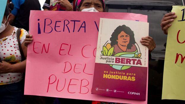 La justRoberto David Castillo fue declarado culpable de ser coautor del asesinato de la ambientalista Berta Cáceres, ocurrido el 2 de marzo de 2016. (EFE/Gustavo Amador/Archivo)