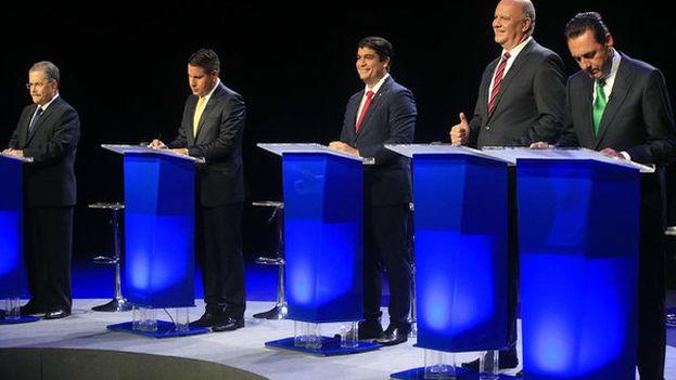 Debate electoral en Costa Rica a tres días de la primera vuelta. (@CRubioMartinezU)