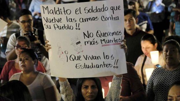 Decenas de miles de nicaraguenses se han manifestado contra el Gobierno de Daniel Ortega desde hace 12 días. (EFE)