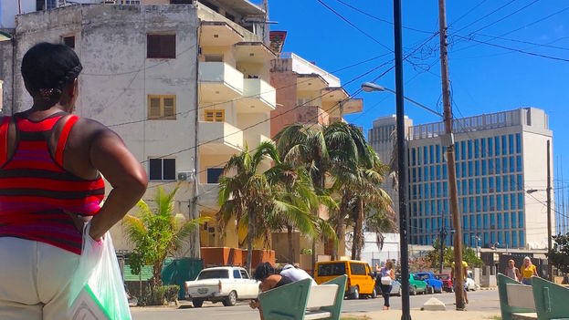 EEUU mantendrá casi cerrado su embajada en Cuba