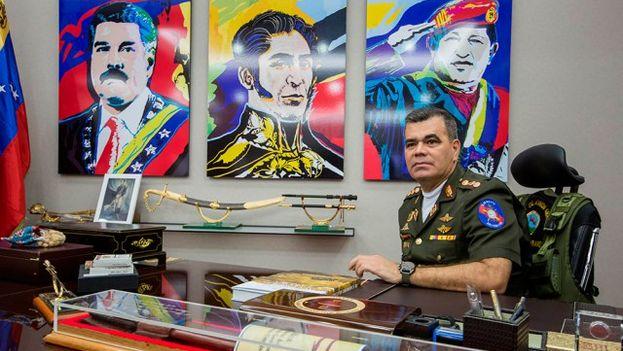 El ministro venezolano de Defensa, Vladimir Padrino López. (EFE)