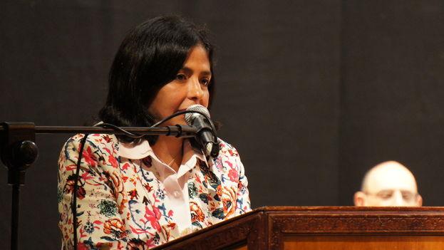 Delcy Rodríguez, canciller venezolana. (CC)