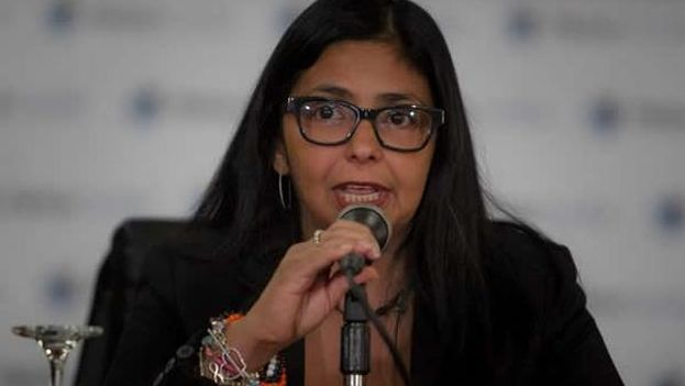 Delcy Rodríguez, canciller venezolana. (@DrodriguezVen)
