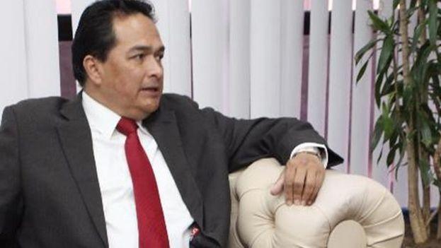 Gerardo Antonio Delgado Maldonado era el encargado de negocios venezolano en Brasilia hasta este martes. (Jornal Opçao/Sandra Travassos)