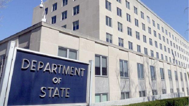El Departamento de Estado en EE UU. (EFE)