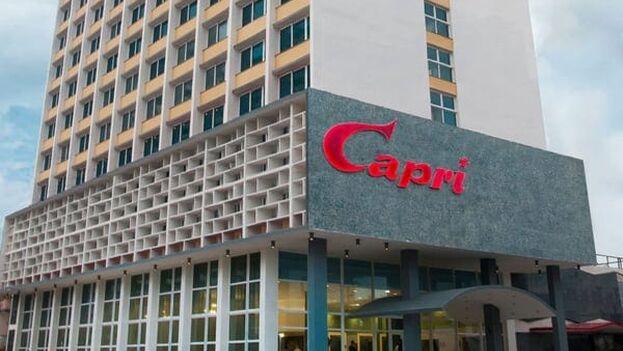 """El Departamento de Estado de EE UU dijo en 2017 que algunos los empleados del NH Capri habían experimentado """"problemas de salud no identificados y no resueltos"""". (Tripadvisor)"""