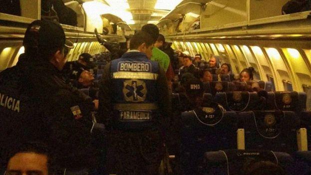 Deportación de ciudadanos cubanos desde Ecuador. (Ministerio Interior Ecuador)