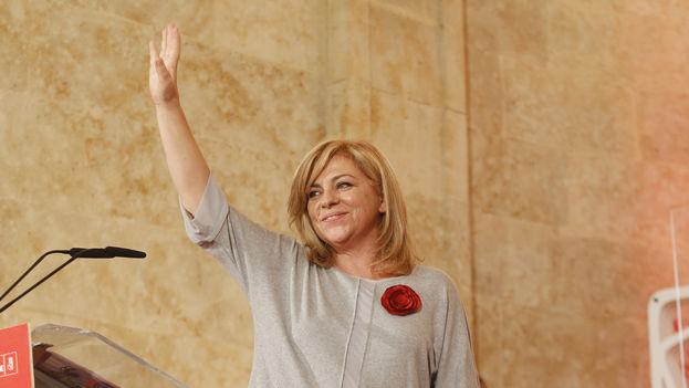 La presidenta de la subcomisión de Derechos Humanos del Parlamento Europeo, Elena Valenciano. (PSOE)