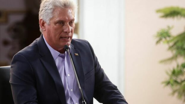 Díaz-Canel dice que se han ahorrado 80 millones solo con las restricciones realizadas. (EFE)