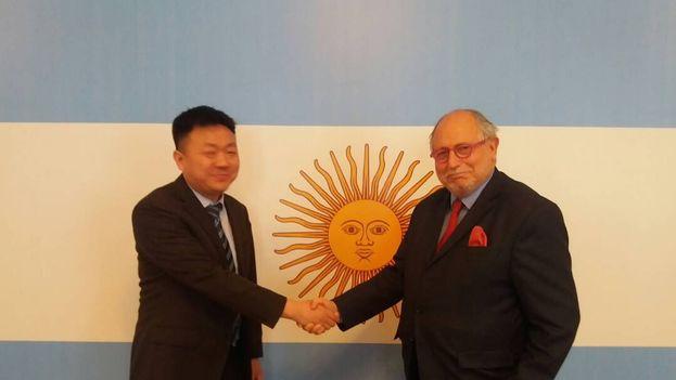 """Diego Guelar, embajador argentino en Shanghai, reivindicó la multipolaridad del mundo: """"No hay lugar para posiciones imperiales, vengan de donde vengan"""". (@diegoguelar)"""