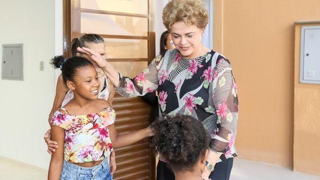 Dilma Rousseff ha denunciado que el proceso en su contra pretende bloquear algunos de los proyectos sociales del Gobierno brasileño. (@dilmabr)