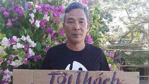 Le Dinh Luong deberá además pasar cinco años de arresto domiciliario una vez cumpla su pena carcelaria. (Facebook)