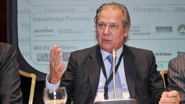 José Dirceu en 2009 en un encuentro económico entre Brasil y China. (Richter Frank-Jurgen/Flickr)