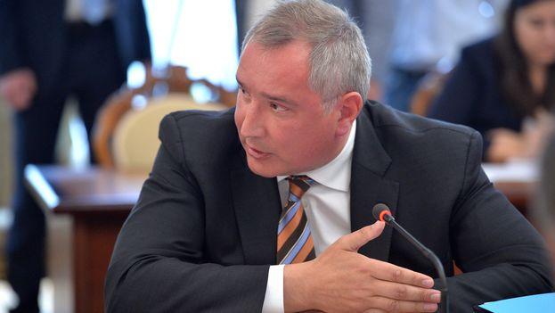 Dmitri Rogozin, viceprimer ministro ruso, detalló los contratos que mantiene con Cuba y Venezuela. (CC)