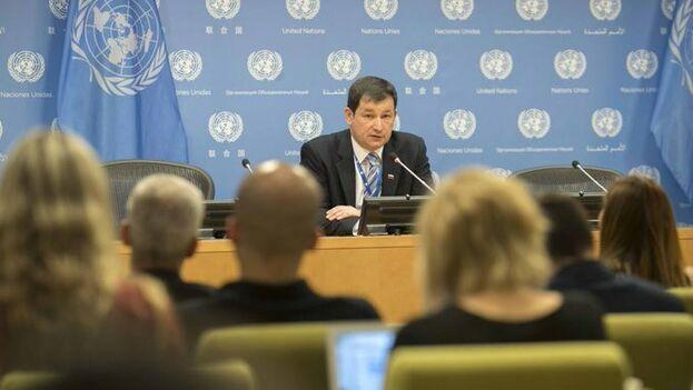 """Dmitry Polyanskiy denuncia que el Gobierno de Donald Trump está """"haciendo todo lo posible para convencer al mundo de que las actuales autoridades de Venezuela no son legales"""". (ONU)"""