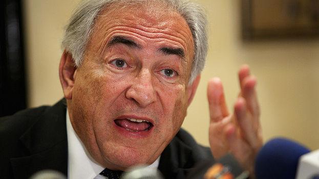 El exministro de Finanzas francés y exdirector del Fondo Monetario Internacional, Dominique Strauss-Kahn. (FMI)