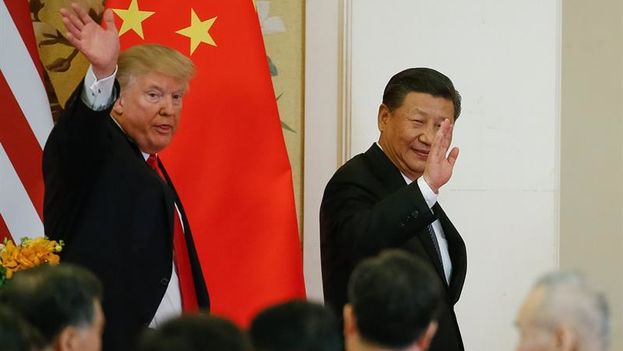 El presidente Donald Trump renovó sus presiones para que China aumente su papel en el aislamiento de Corea del Norte. (EFE)