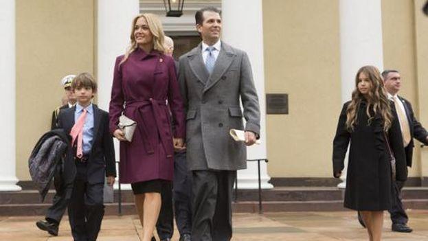 Donald Jr., el primogénito del presidente estadounidense, y Vanessa Trump se casaron en 2005 y tienen cinco hijos. (EFE)