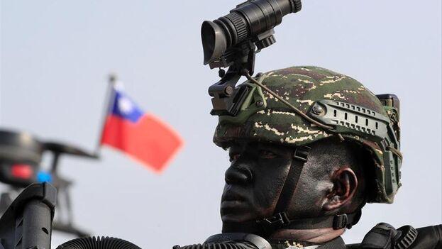 Donald Trump llevó a cabo una serie de intercambios políticos y ventas de armamento a Taipéi contra los que Pekín protestó amargamente. (EFE)