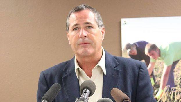 Doug Goehring, miembro de la delegación comercial de Dakota del Norte. (Facebook)