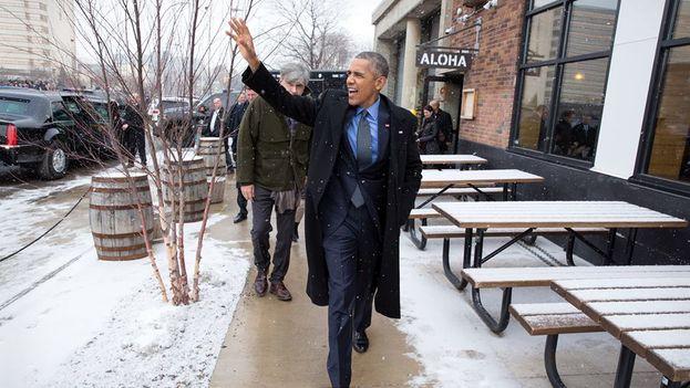 El presidente de EE UU, Barack Obama, el pasado mes de enero. (Casa Blanca/ Pete Souza)