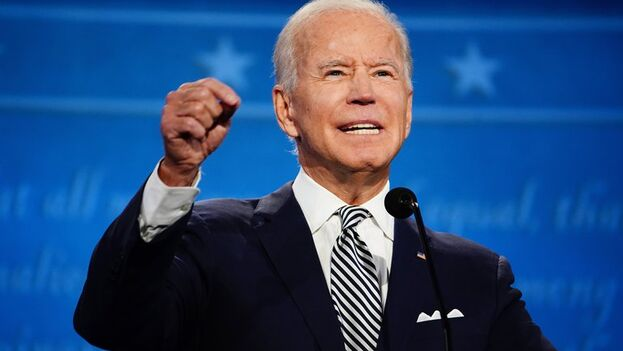El candidato demócrata a la presidencia de EE UU, Joe Biden. (EFE/Jim Lo Scalzo/Archivo)