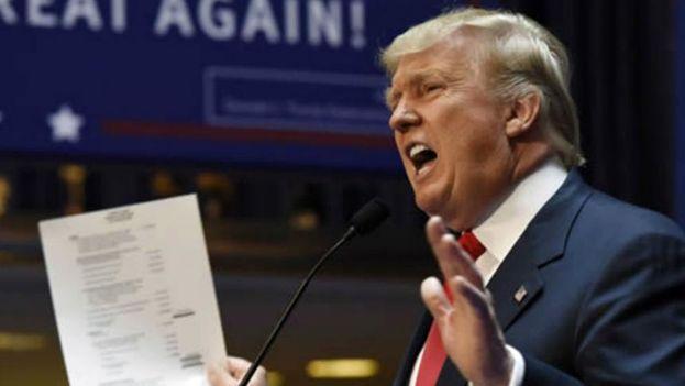 El presidente de EE UU, Donald Trump. (EFE)