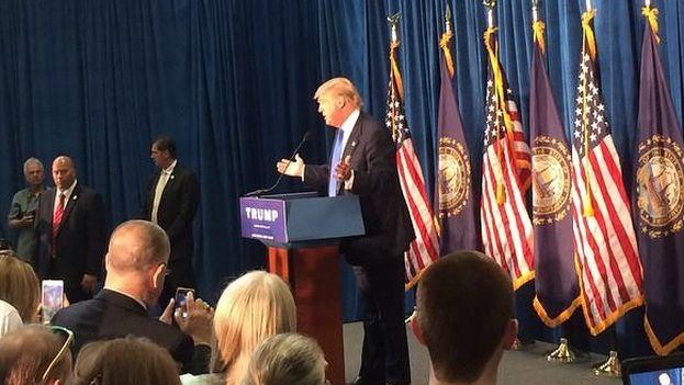 El aspirante republicano a la presidencia de EE UU, Donald Trump. (Facebook)