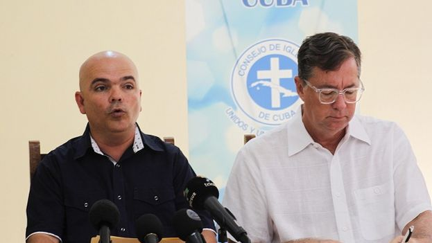 Los religiosos de la Isla y de EE UU consideran que la reducción de personal en la embaja de EE UU en La Habana afecta a las familias cubanas. (Cadena Agramonte)