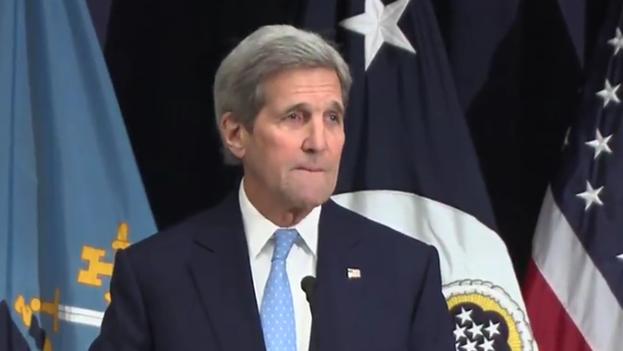 El secretario de Estado de EE UU, John Kerry. (Fotograma)