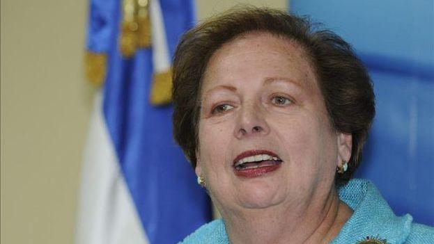 La secretaria de Estado adjunta en funciones de EE UU para Latinoamérica, Mari Carmen Aponte. (EFE)
