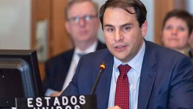 El embajador de EE UU ante la Organización de Estados Americanos (OEA), Carlos Trujillo. (Captura)