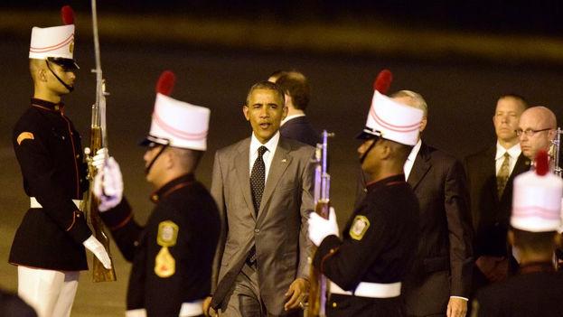 El presidente de EE UU, Barack Obama, llega a Panamá para la Cumbre de las Américas. (Cumbre de las Américas)