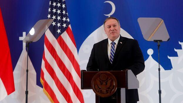 El secretario de Estado de EE UU, Mike Pompeo. (EFE/EPA/Adi Weda/Archivo)