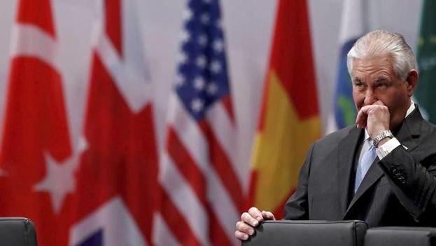 El secretario de Estado de EE UU, Rex Tillerson. (EFE)