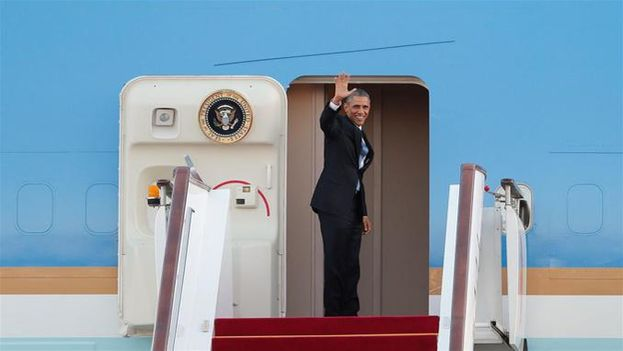 El presidente de EE UU viajará el martes a Ho Chi Minh (antigua Saigón), donde concluirá su agenda antes de viajar a Japón para asistir a la cumbre del G7 y efectuar una histórica visita a Hiroshima.