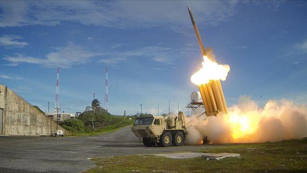 EL despliegue del sistema de misiles se produce en medio de la tensión en la región por las pruebas de armamento de Corea del Norte. (14ymedio)