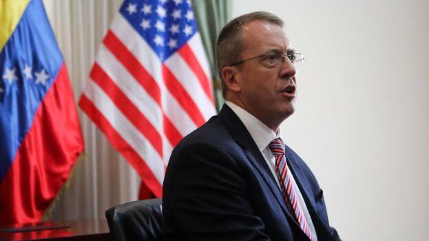 James Story, nuevo embajador de EE UU ante Venezuela, era hasta ahora encargado de negocios. (EFE/Cristian Hernández/Archivo)