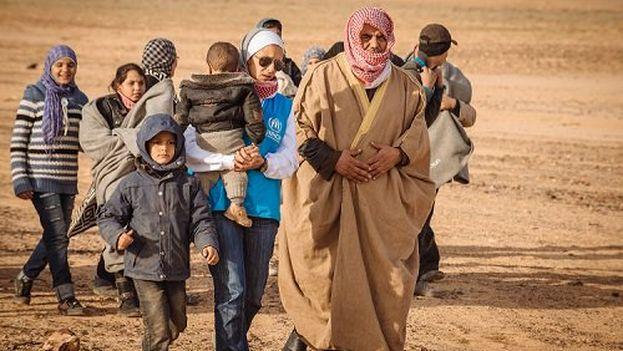 EE UU votó ayer a favor de limitar la entrada de refugiados en su territorio. (@eACNUR)