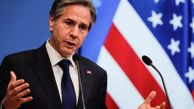 En la imagen, el secretario de Estado de EEUU, Antony Blinken (EFE/Olivier Hoslet/Archivo)
