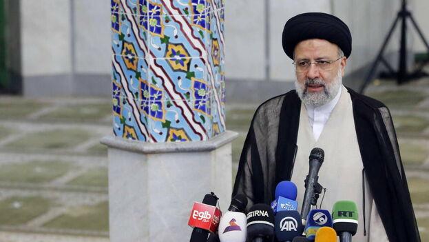 El clérigo ultraconservador Ebrahim Raisí, recién elegido presidente de Irán. (EFE/EPA/Abedin Taherkenareh)