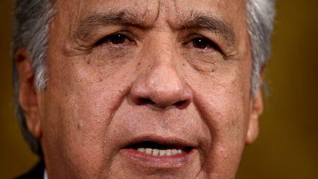 El presidente de Ecuador, Lenín Moreno. (EFE/José Jácome/Archivo)