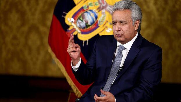 El presidente de Ecuador, Lenín Moreno. (EFE/José Jácome)